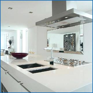 Caesarstone Kitchen Benchtops - Wallspan Adelaide