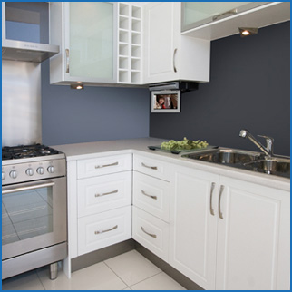 Kitchen styles in adelaide kitchen wardrobes wallspan for Kitchen ideas adelaide
