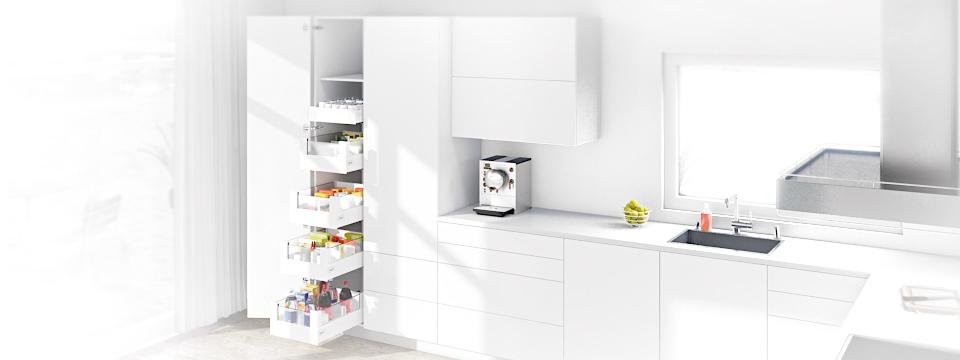 Dream Kitchens Thanks To Blum Wallspan