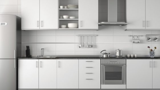 Modern White Kitchen Design - Kitchen Connection