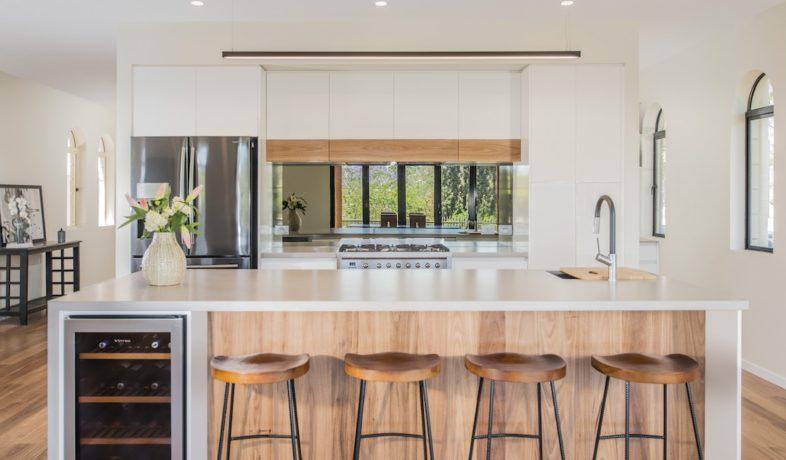 Modern Industrial Kitchen Wallspan Adelaide
