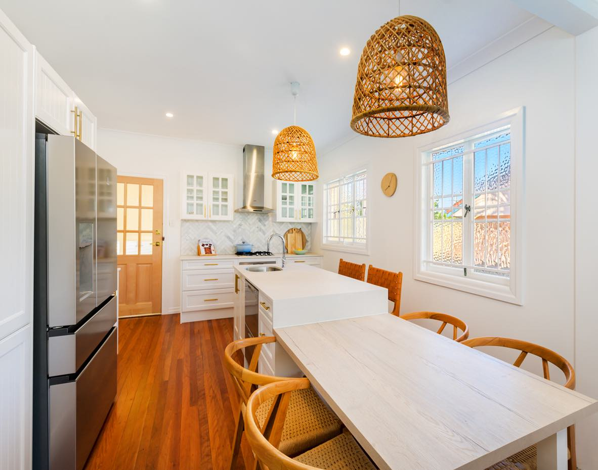 Recent country kitchen design by Wallspan Kitchens Adelaide